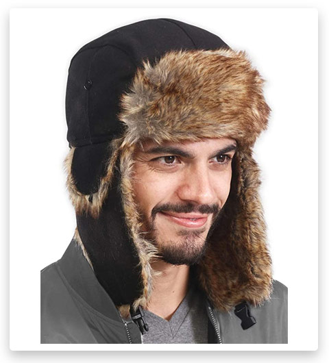 Tough Headwear Trapper / Trooper / Eskimo Hat - Fits Men & Women