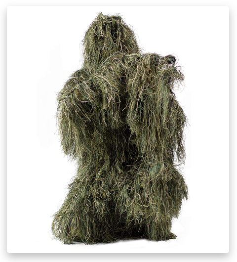 2 VIVO Ghillie Suit Camo Woodland (Forest / Hunting)