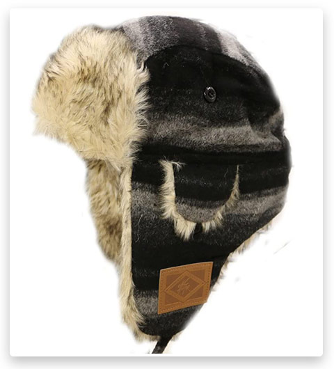 City Hunter W300 Premium Wool Trapper Hat
