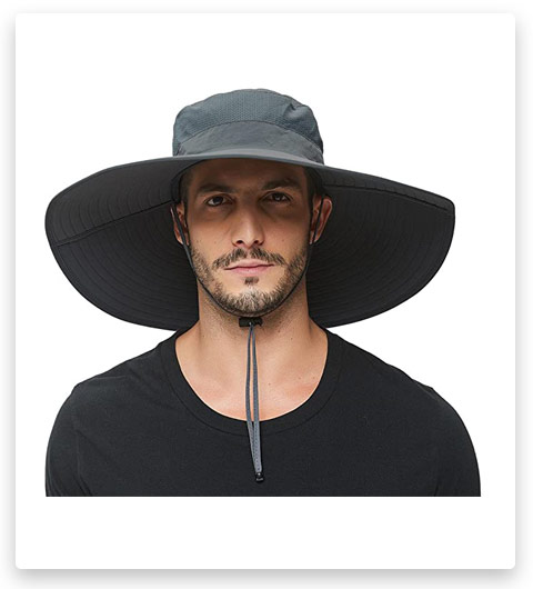 HLLMAN Super Wide Brim Sun Hat