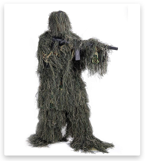 Pinty Ghillie Suit 3D Tactical Woodland
