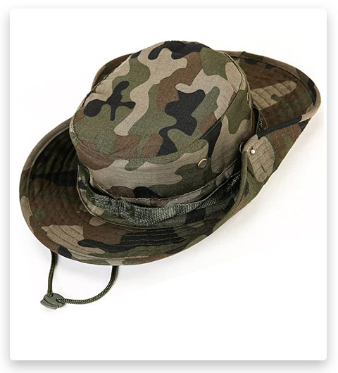 Kolumb Wide Brim Boonie Hat (Women / Men)