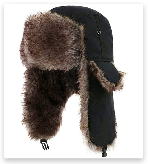 Yesurprise Unisex Trapper Warm Russian Trooper Hat