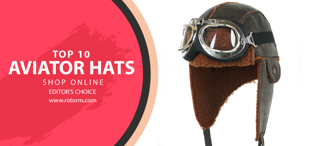 Best Aviator Hats Banner