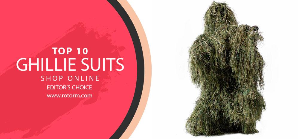 Best Ghillie Suits - Banner