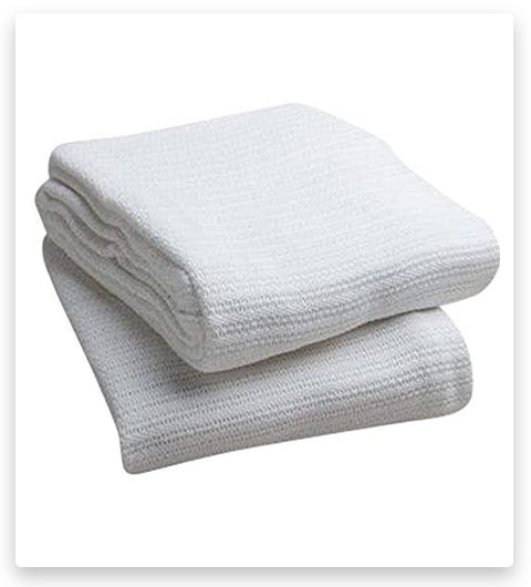 Head2Toe 100% Cotton Hospital Thermal Blanket