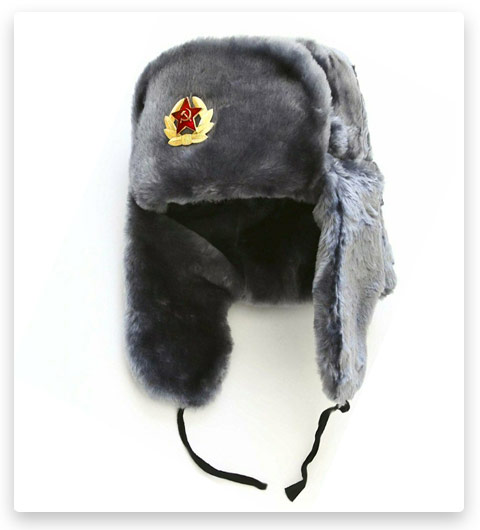 Peton - Ushanka Soviet Army Air Force Fur Military