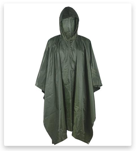 LOOGU Rain Poncho (Waterproof)