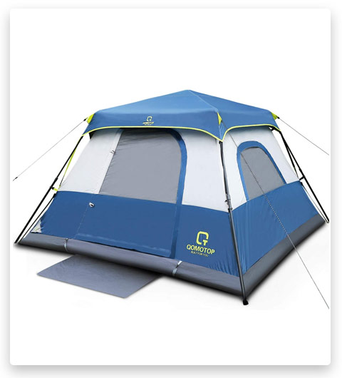 OT QOMOTOP Tents, 4/6/8/10 Person 60 Seconds Set Up Camping Tent