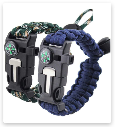 Survival Bracelet Paracord Military Bracelet