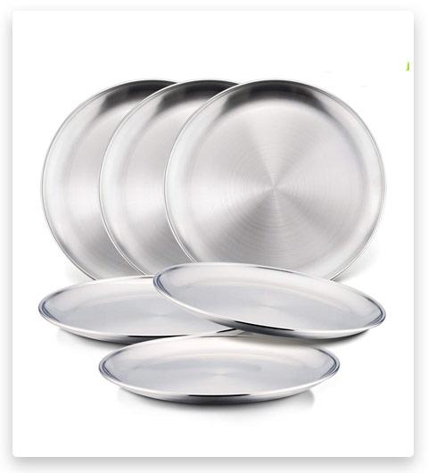 Stainless Steel Plates (for children)