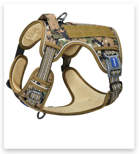FIVEWOODY Tactical Dog Training Harness