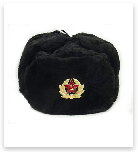 Siberhat - Russian Soviet Army Cossack Ushanka Winter Hat