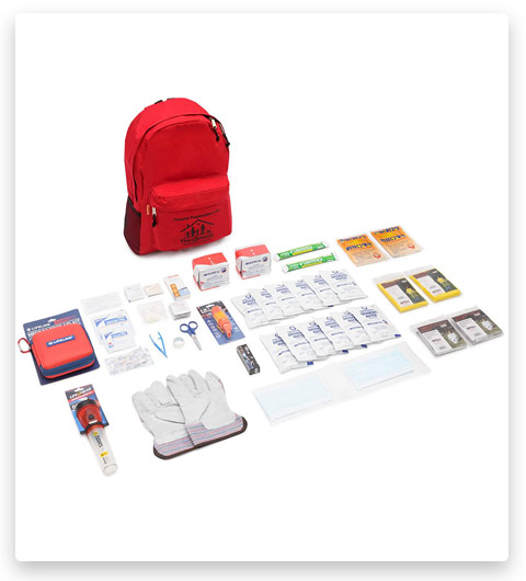 First My Family Premium Disaster Preparedness Survival Kit (72 Hours)
