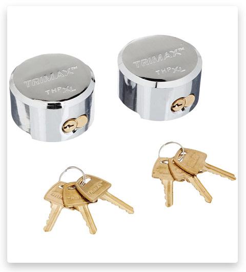 Trimax THP2XL Keyed Alike Trailer Door Lock, (Pack of 2)