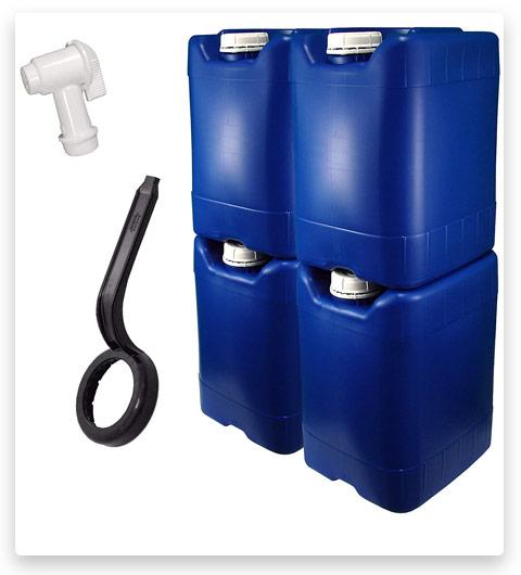 API Kirk Container Emergency Water Storage Kit