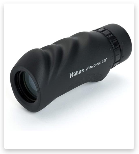 Celestron Nature 10x25 Monocular, Black
