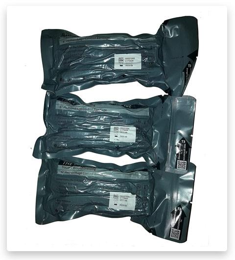5 First Care 3 X Israeli Battle Bandages (Israeli Battle Dressing)