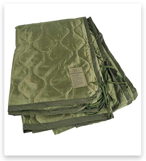 OD Green Military Poncho Liner Woobie blanket Nylon