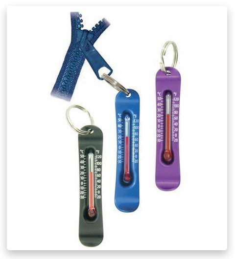 Sun Company Brrr-ometer - Snowsport Zipperpull Thermometer