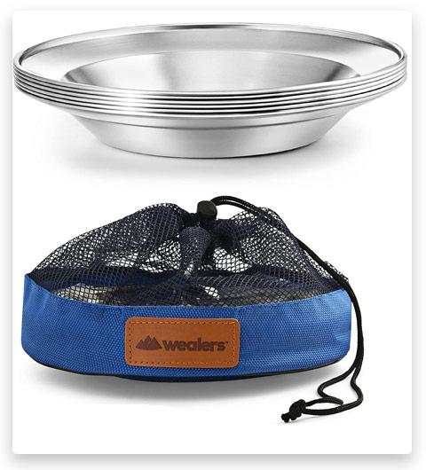 WEALERS - Stainless Steel Plate Set