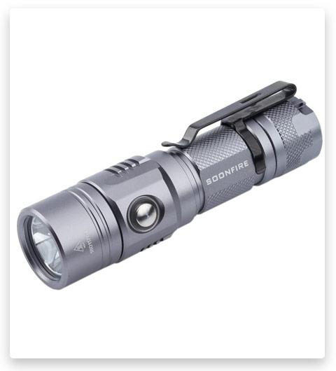 1000 Lumen Cree XP-L LED Rechargeable Flashlight