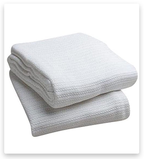 Elivo 100% Cotton Hospital Thermal Blankets
