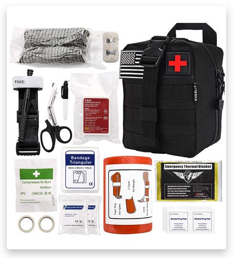 Everlit Emergency Survival Trauma Kit (Black)
