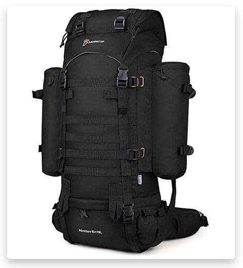 Mardingtop Internal Frame Backpacks (Molle Hiking, 65+10L/65L)