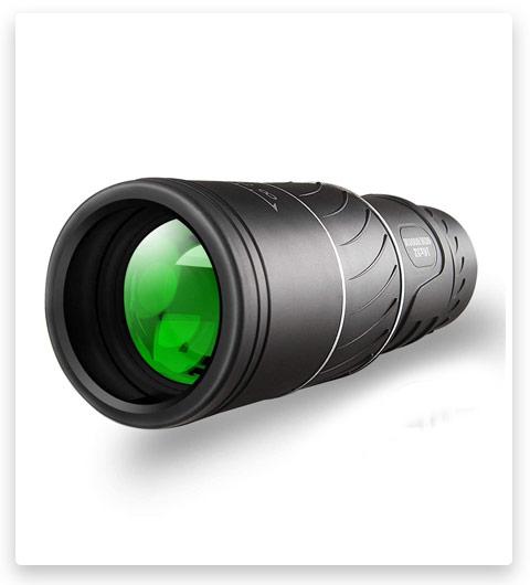 Monocular Telescope,16x52 Monocular Dual Focus Optics Zoom Telescope