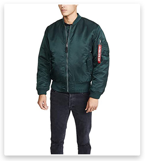 Alpha Industries Men's MA-1 Flight Bomber Jacket