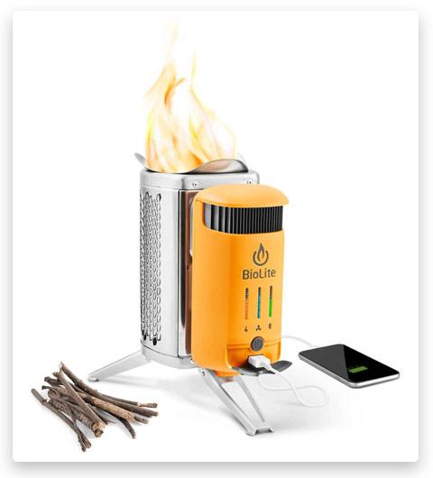 BioLite Campstove 2 Wood Burning (Electricity Generating & USB Charging Camp Stove)