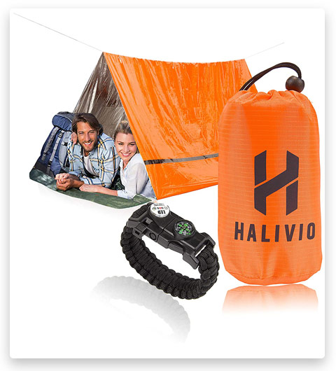 Halivio Emergency Tent/Emergency Blanket for Emergency Shelter