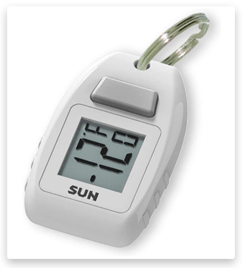 Sun Company Digital Zipogage Compact Zipperpull Digital Thermometer