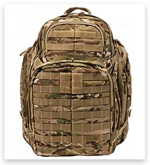 5.11 Tactical RUSH72 Military Backpack (Molle, 55 Liter)