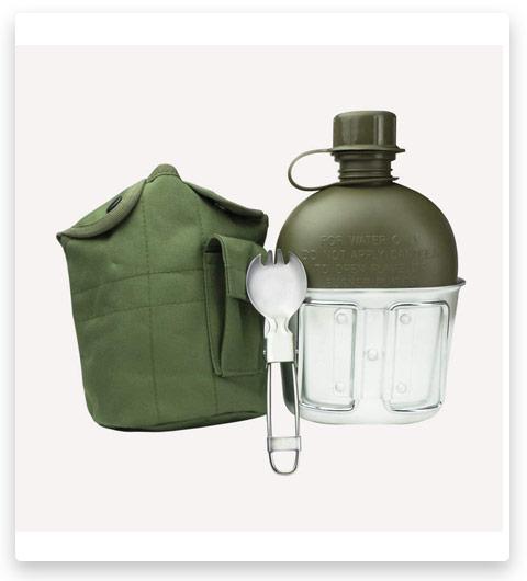 BeGrit Outdoor Kettle Canteen Aluminum Cup Kit