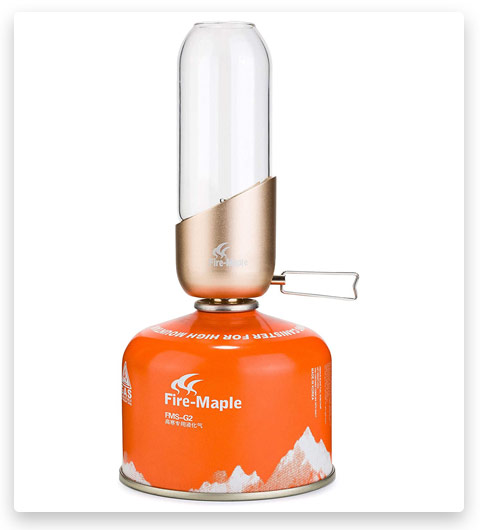 Fire-Maple Orange Camping Gas Lantern