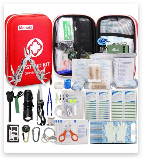 Monoki First Aid Survival Bag