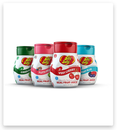 Jelly Belly Drink Mix - Variety Pack (Naturally Flavored Water Enhancer)