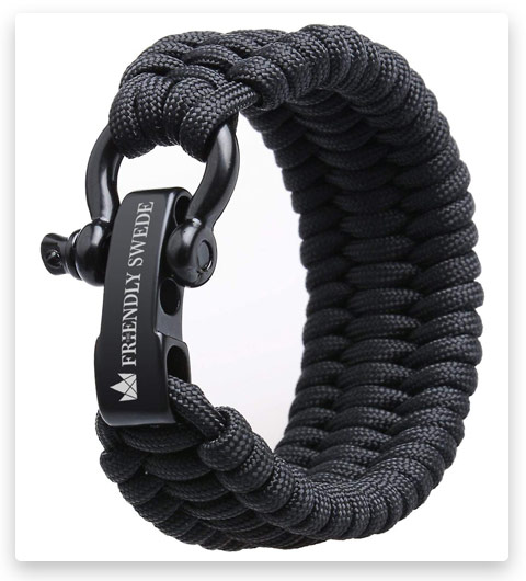 The Friendly Swede Trilobite Extra Beefy 550 lb Paracord Survival Bracelet