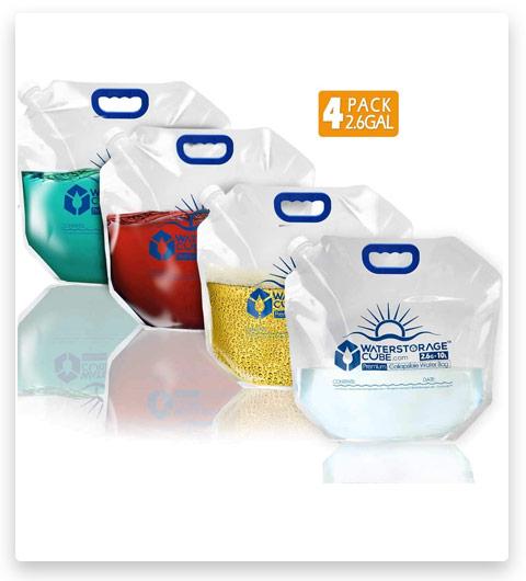 WaterStorageCube Premium Collapsible Water Container Bag