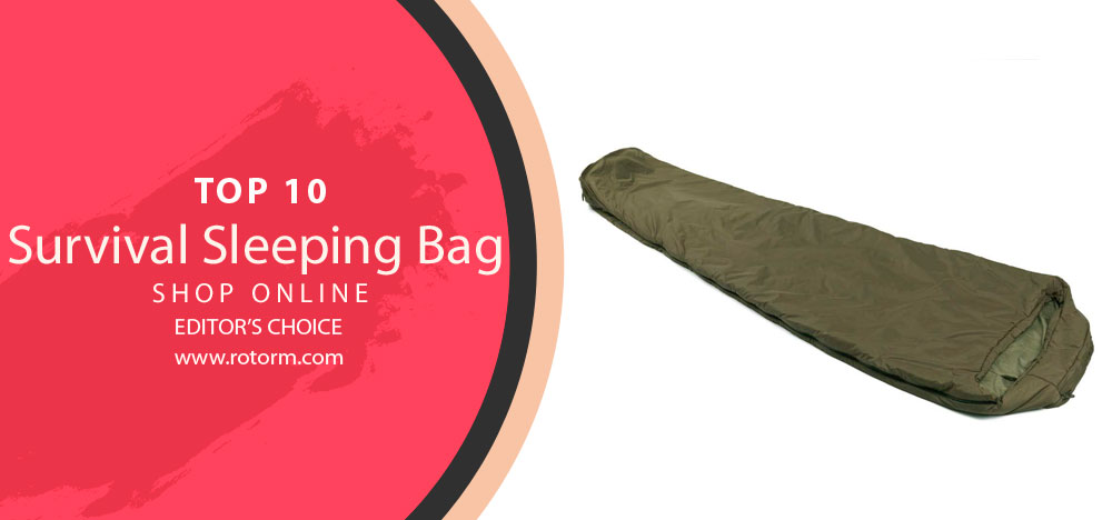 Best Survival Sleeping Bag - editor's choice