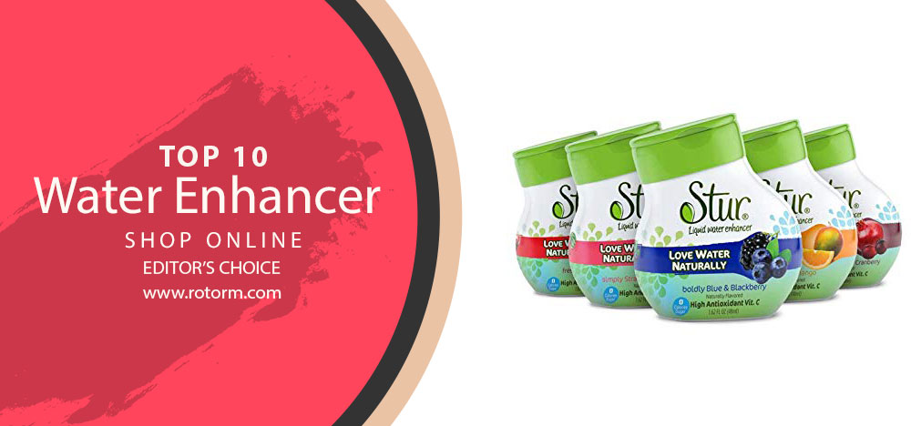 Top-10 Water Enhancer - Editor's Choice