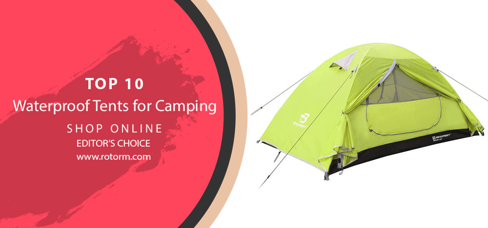 Top 10 Waterproof Camping Tent's
