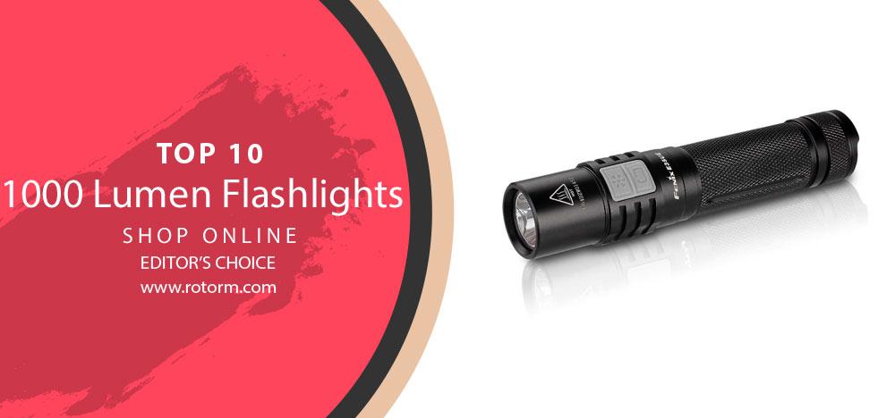 Best 1000 Lumen Flashlights - editor's choice
