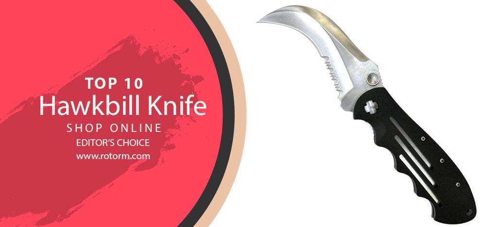 TOP-10 Hawkbill Knife - Editor's Choice