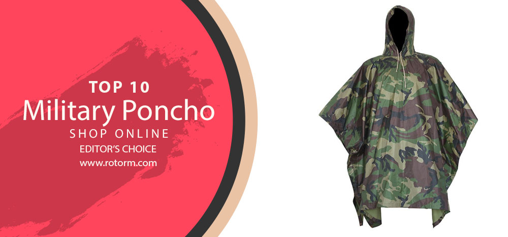 Top 10 Military Poncho - Editor's Choice