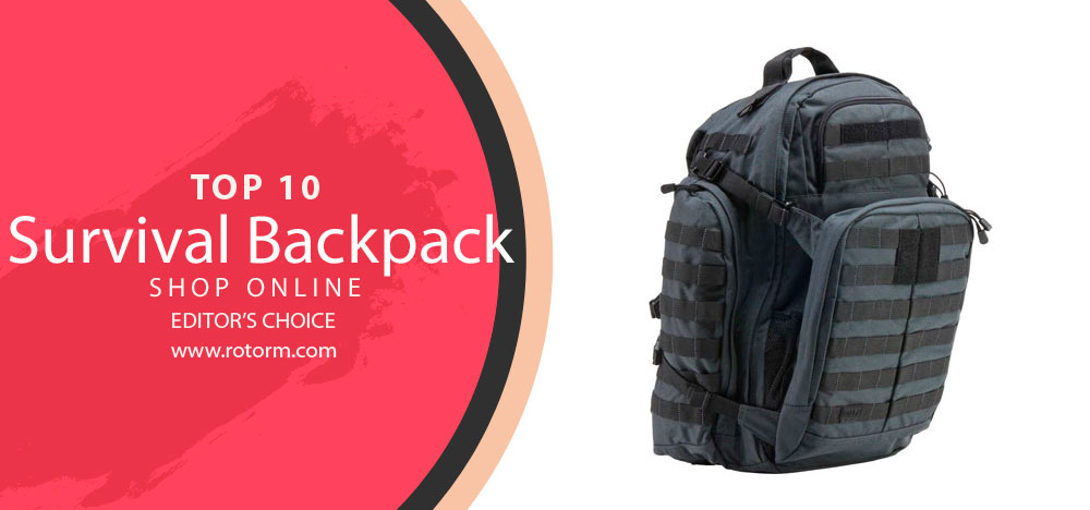Top 10 Survival Backpack - Editor's Choice
