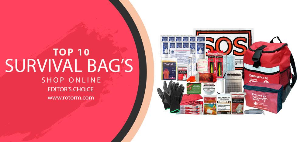 Top 10 Surival Bag's - Editor's Choice