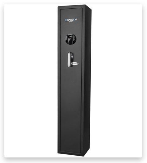 Barska HQ800 Standard Quick Access Keypad Biometric Rifle Safe AX12760